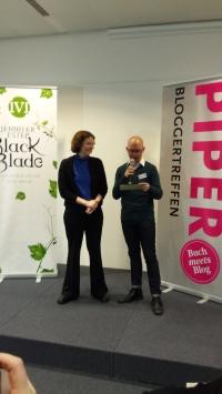 PIPER Bloggertreffen mit Jennifer Estep
